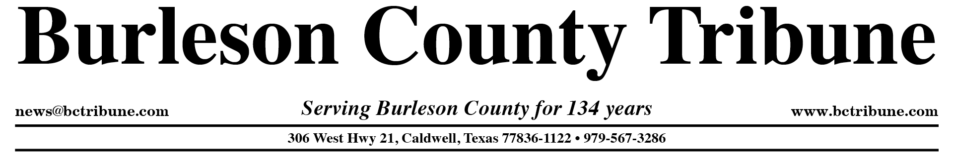 Burleson County Tribune |